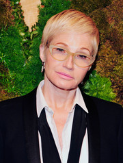 Ellen Barkin sported a pixie cut while attending MoMA's Party in the Garden.