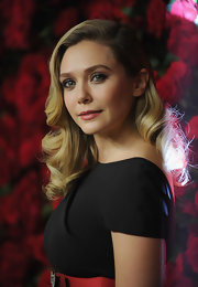 Elizabeth Olsen wore sexy retro swipes of black liquid liner at the Museum of Modern Art's 4th Annual Film Benefit.