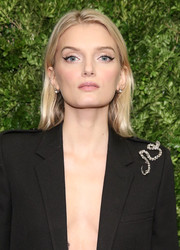 Lily Donaldson was '60s-chic with her winged eyes at the Museum of Modern Art's film benefit.