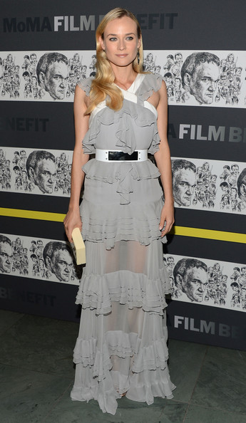 More Pics of Diane Kruger Evening Dress (5 of 14) - Diane Kruger Lookbook - StyleBistro