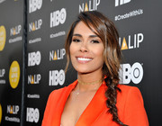 Daniella Alonso looked charming with her loose side braid at the NALIP 2016 Latino Media Awards.