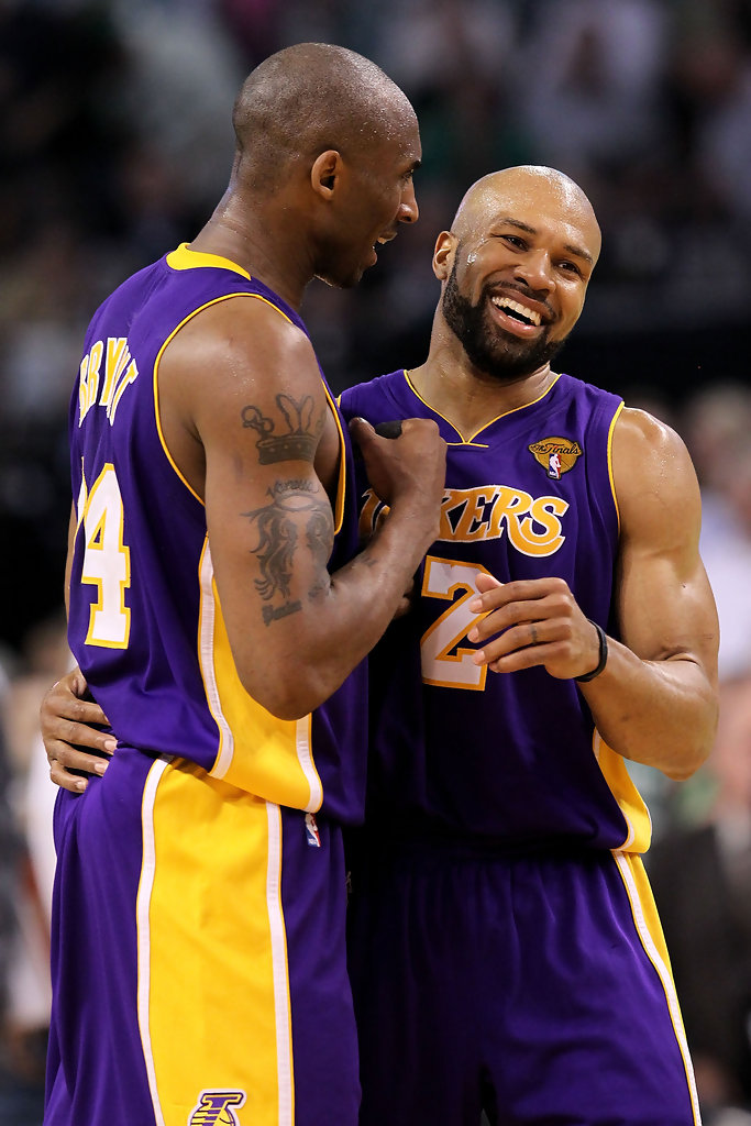 derek fisher and kobe bryant relationship with lebron