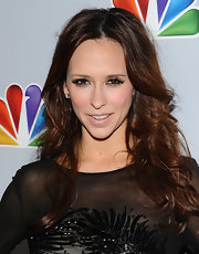 Jennifer Love Hewitt wore her long layered hair in tousled waves at Betty White's 90th Birthday Celebration.
