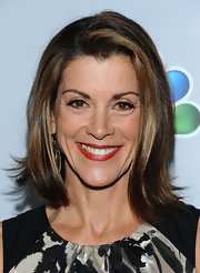 Wendie Malick wore her hair in a classic bob with a subtle flip at Betty White's 90th Birthday Celebration.