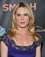 Stephanie March wore her slightly wavy tresses casually spilling over her shoulders at the premiere of 'Smash.'