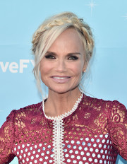 Kristin Chenoweth channeled her inner fairytale princess with this crown braid at the 'Hairspray Live!' FYC event.