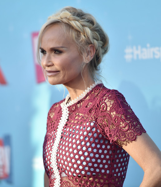 More Pics of Kristin Chenoweth Braided Updo (3 of 12) - Kristin Chenoweth Lookbook - StyleBistro
