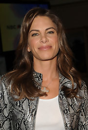 Jillian Michaels wore her hair in subtle waves at the NBC Universal Summer Press Day.