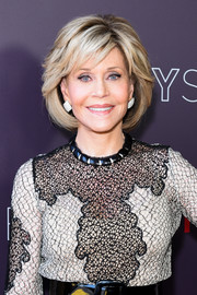 Jane Fonda showed off a perfectly styled bob at the Netflix FYSEE event for 'Grace and Frankie.'
