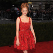 Try Textured Red Like Emma Stone