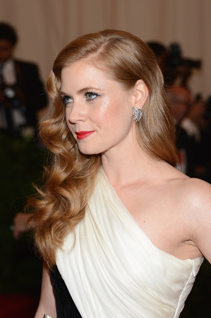 "Actress Amy Adams attends the ""Schiaparelli And Prada: Impossible Conversations"" Costume Institute Gala at the Metropolitan Museum of Art on May 7, 2012 in New York City."