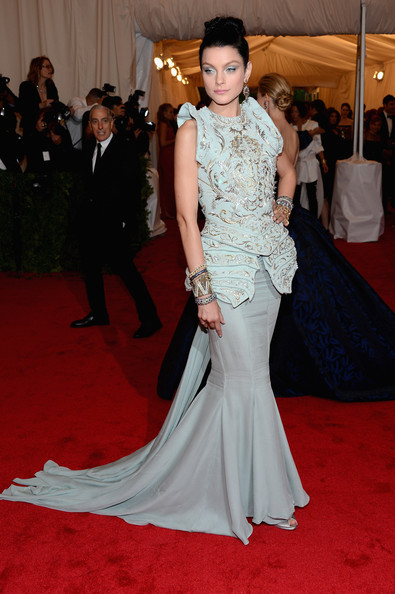 Jessica Stam in Christian Dior Couture