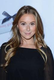 Alexa Vega looked lovely at a 'Nylon' magazine celebration of the latest young Hollywood issue wearing soft bronzy makeup and with her long tresses flowing.