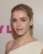 Kiernan Shipka kept it casual with this mildly messy ponytail at the Nylon Young Hollywood Party.