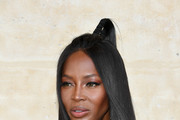 Naomi Campbell Half Up Half Down
