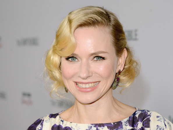 Naomi Watts Retro Updo