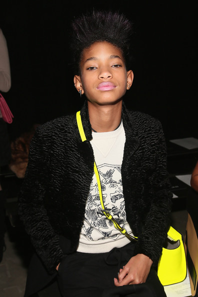 More Pics of Willow Smith Fauxhawk (1 of 9) - Willow Smith Lookbook - StyleBistro []