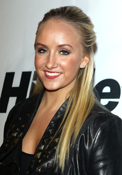 Nastia Liukin Half Up Half Down