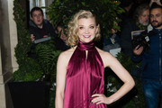 Natalie Dormer Halter Dress
