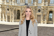 Natalie Dormer Tweed Coat