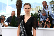 Natalie Portman Beaded Dress