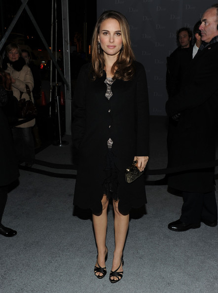 Natalie Portman Evening Coat
