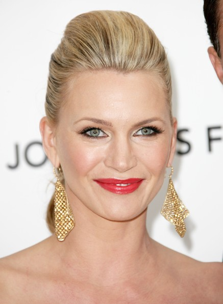 Natasha Henstridge Red Lipstick
