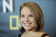 Katie Couric attended the premiere of 'Gender Revolution: A Journey with Katie Couric' wearing her hair in a neat bob.