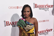 Naturi Naughton One Shoulder Dress