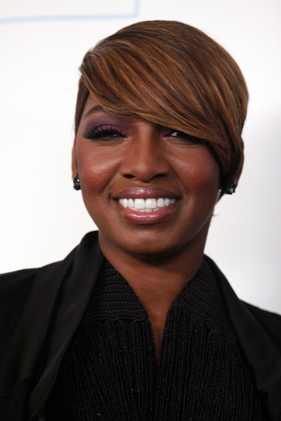 NeNe Leakes Side Parted Straight Cut