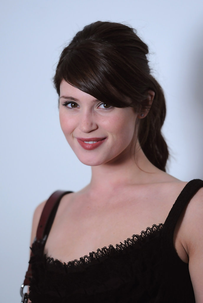 Gemma Arterton attends the Net-A-Porter 10 Birthday Party at Westfield on July 7, 2010 in London, England.