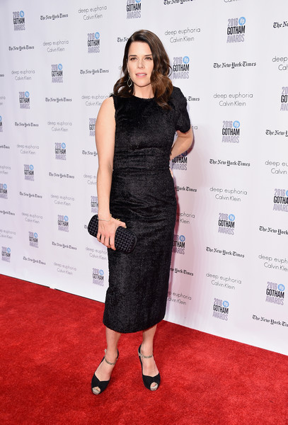 Neve Campbell Little Black Dress