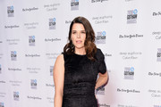 Neve Campbell Peep Toe Pumps