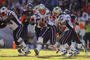 Tom Brady Benjarvus Green-ellis New England Patriots v Denver Broncos