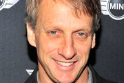 Skateboarder Tony Hawk attends the new MINI Hardtop unveiling at The Kim Sing Theater on November 19, 2013 in Los Angeles, California.