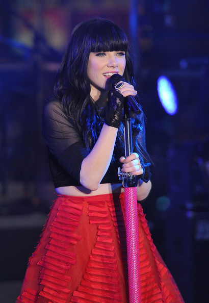 More Pics of Carly Rae Jepsen Long Skirt (1 of 24) - Carly Rae Jepsen Lookbook - StyleBistro