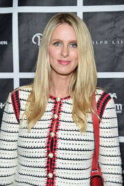 Nicky Hilton Rothschild attended the New York Fatherhood Lunch wearing her hair in a simple layered cut.