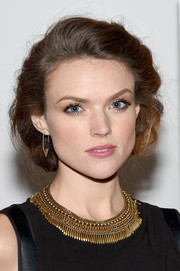 Erin Richards kept it ladylike with this bob at the New York screening of 'Meadowland.'