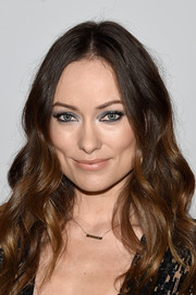 Olivia Wilde was a boho beauty at the New York screening of 'Meadowland' with her long center-parted waves.