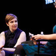 Lena Dunham and Emily Nussbaum