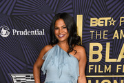 Nia Long One Shoulder Dress