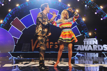 Nick Grimshaw Rita Ora Radio One Teen Awards - Live Show