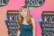 Actress Jennette McCurdy arrives at Nickelodeon's 23rd Annual Kids' Choice Awards held at UCLA's Pauley Pavilion on March 27, 2010 in Los Angeles, California.