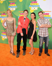 Gage Golightly wore this '20s-inspired gold mini to the Kids' Choice Awards.