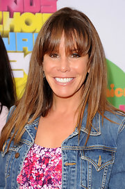 Melissa's straight chestnut locks looked glossy and gorgeous at the the 2011 Nickelodeon's Kids' Choice Awards in LA.