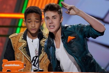 Jaden Smith Justin Bieber Nickelodeon's 25th Annual Kids' Choice Awards - Show