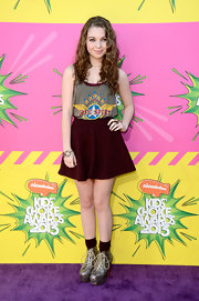 Sammi Hanratty chose this printed tank for her hippie-inspired look at the Kids' Choice Awards.