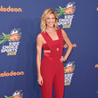 Look of the Day: Erin Andrews' Deep Red Jumpsuit