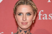 Nicky Hilton Braided Updo