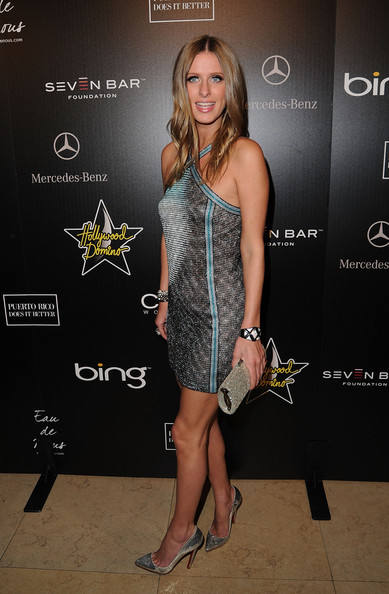 Nicky Hilton Beaded Clutch